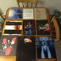 Tour Books/Programmes from various music bands