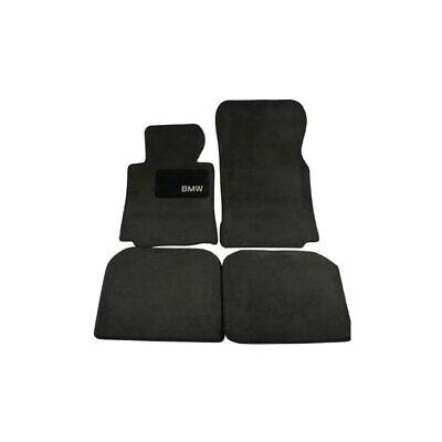 Genuine Black Carpeted Floor Mats For BMW E38 740iL 750iL 7-Series 95-01