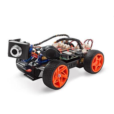 SunFounder PiCar-V Smart Robot Video Car V2.0 Kit for Raspberry Pi 3/2/B+ (Raspberry Pi 2 Car Kit)