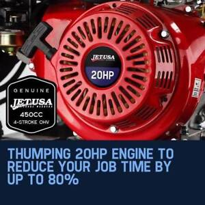 Pressure Washer - High pressure, powerful petrol engin