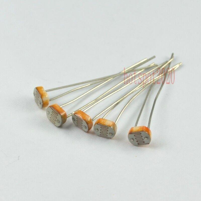 50x 5539CDS Photo Light Dependent Sensitive Resistor Photoresistor LDR Photocell