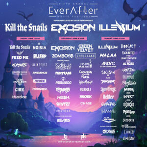 Ever After Music Festival (3-Day GA Hard tickets)