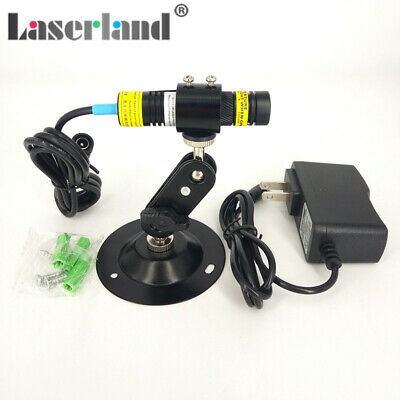 1668mm 830nm 300mw Ir Infrared Focusable Dot Diode Laser Module W Adapter Mount