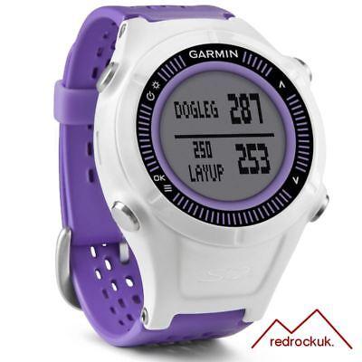 Garmin Wandern S2 GPS Golf Uhr mit 38,000 Weltweit Kurse - Lila/Weiß