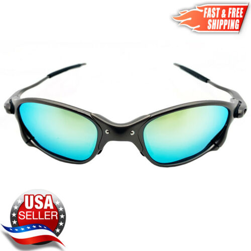 XX Metal Frame Sunglasses with Polarized UV400 Gold Iridium Lenses - USA SELLER