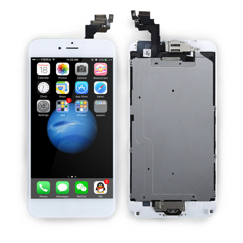 OEM For iPhone 6 Plus Screen Digitizer Replacement lcd Touch Home Button Camera