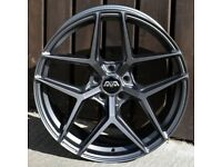 """20"""" AVA HSF-013 Alloy Wheel and Tyre Package 5X112"""