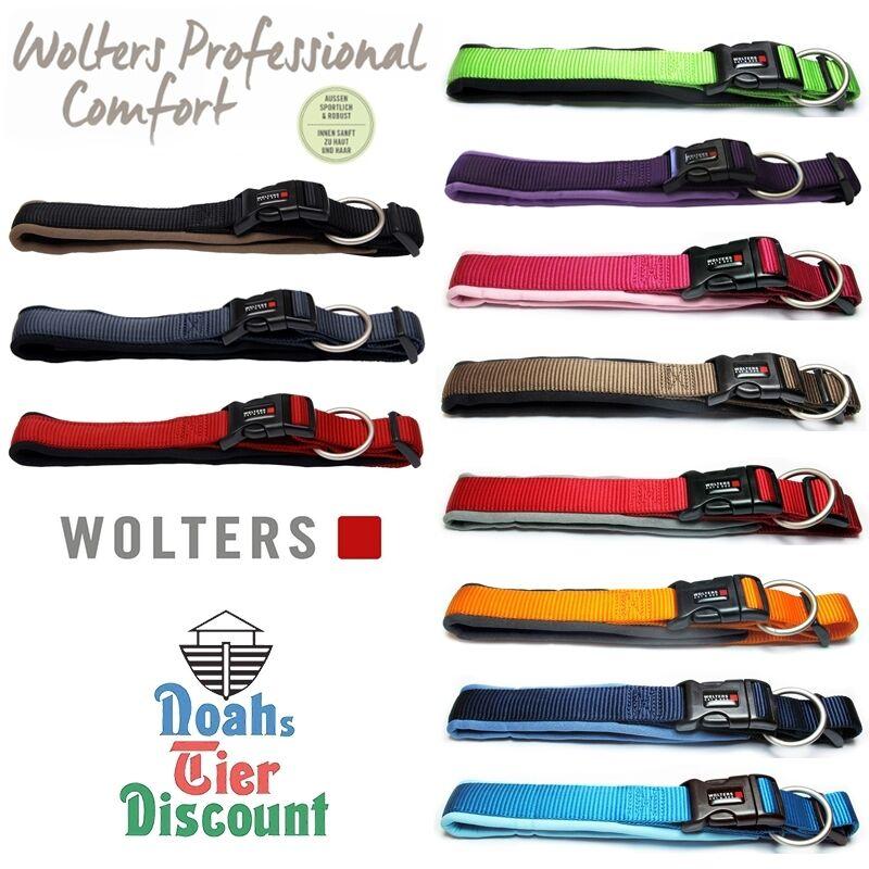 Wolters Professional Comfort Hunde Halsband mit Neopren auch extra breit