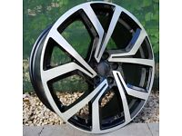 "18"" Clubsport Style Alloys and tyres for 5x112 VW Audi Seat Etc"