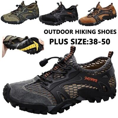 Hiking Shoes - Hiking Shoes for Men Running Quick-dry Lightweight Athletic Trekking Water Shoes