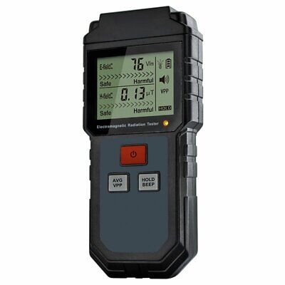 Lcd Electromagnetic Radiation Tester Emf Meter Electric Magnetic Field Detector