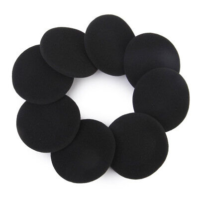 4 Pair 60mm Replacement Ear Foam Earphone Pad Covers for Headset Headphone D2E0
