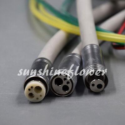 Dental Silicone Tubing Hose For Fiber Optic Air Turbine High Speed 246 Hole