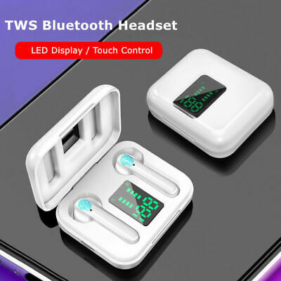 TWS Wireless Bluetooth 5.0 Earphones LED Air Ear pods Buds for IOS Android UK
