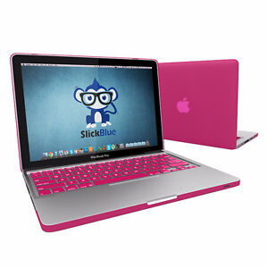 """Macbook Pro 13"""" Pink Cover and Keyboard"""