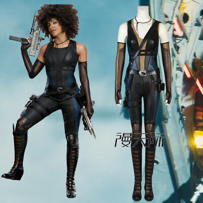 rman Domino Cosplay Kostüm Outfit Halloween Set Costume (Domino-cosplay)