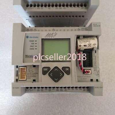 1pc Used 1763-l16bbb Micrologix 1100 1763l16bbb Working Good