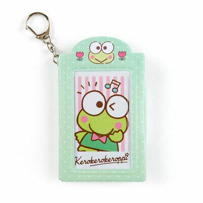 Kero Kero Keroppi Frog Cased Notes & Stickers IC Card Case Sanrio Kawaii ZJP
