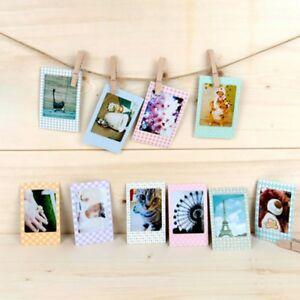 100x Polaroid Films Photo Stickers For FujiFilm Instax Mini Instant 8 7S 25 50S