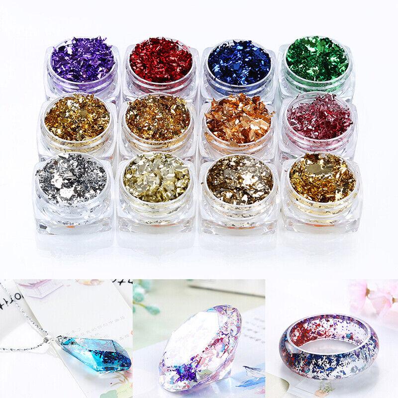 uv resin filling glitter accessories diy jewelry