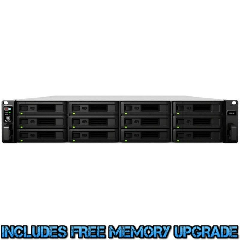 Synology Rackstation Rs2418+ 12tb Nas Server 12x1000gb Seagate Barracuda Drives