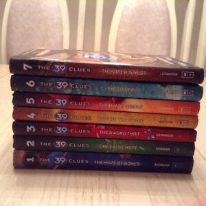 The 39 Clues Book Series- Books 1 to 7 - Hardcover
