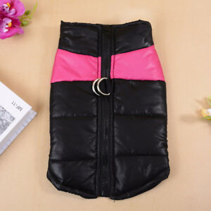 NEW insulated winter dog coat, size S