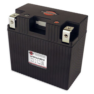 LITHIUM SHORAI BATTERY FOR MOTORCYCLES AND ATVS LFX21L6-BS12