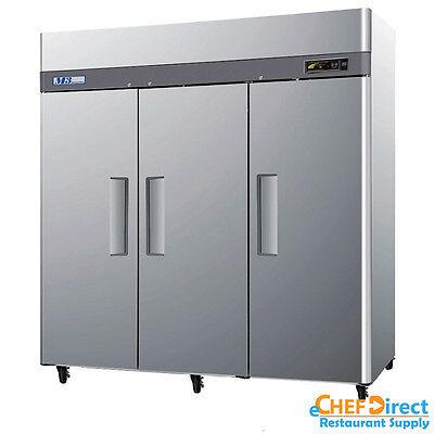 Turbo Air M3f72-3-n 78 3 Door Reach-in Freezer