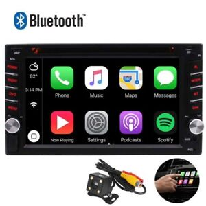 6.2'' HD Bluetooth 2 DIN Touch Screen Car Stereo Radio FM/MP5/MP