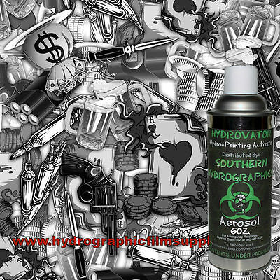 Hydrographic Film Water Transfer Hydro Dip 6oz. Activator Vices Dip Kit