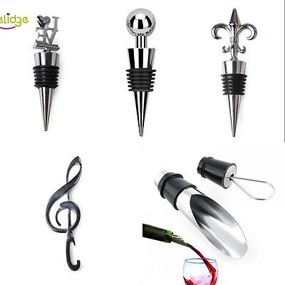 Kitchen Bar Tools Wine Bottle Stopper Vacuum Sealed Cap Opener  Accessories