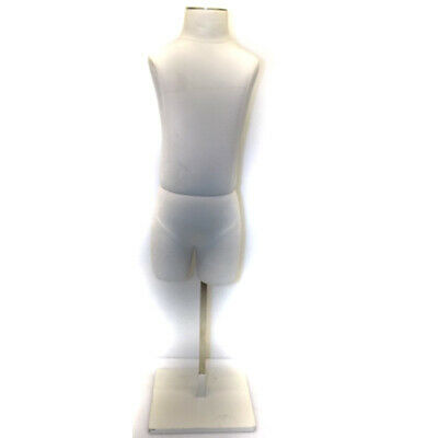 Dress Form Mannequin Child Form 19.5 Tall 4-6 Years Kids Retail Display Wstand