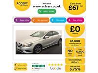 Mercedes-Benz A200 FROM £67 PER WEEK!