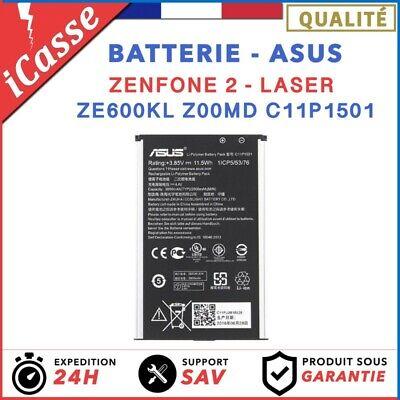 Batterie pour Asus Zenfone 2 Laser ZE600KL Z00MD C11P1501 3000mAh