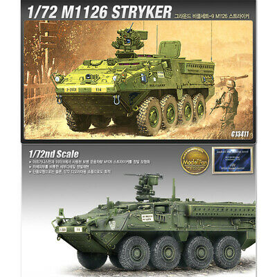 Academy 1/72 M1126 Stryker 13411 Armor Plastic Model Kit