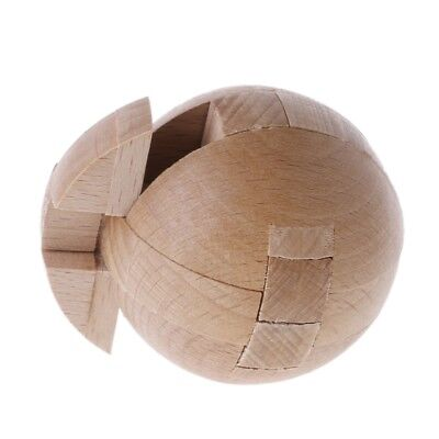 New Wooden Puzzle Magic Ball Intelligence Game Brain Teasers Toy Adults Kids Toy](Ball Puzzle Games)