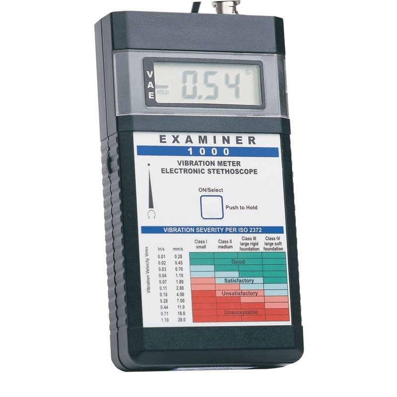 Monarch Examiner 1000 6400-011 Easy to Use Vibration Meter Kit