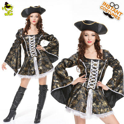 New Adult's Pirate Queen Woman Costumes For Woman Halloween Party Role Cosplay](Pirate Halloween Costumes For Adults)