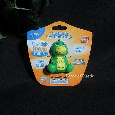 New Kids Mini Flashlight Friends Clipable Flashlight As Seen On TV Green Dragon