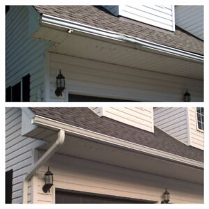 Seamless Eavestroughs Install / Repair / Cleaning+Gutter Guards