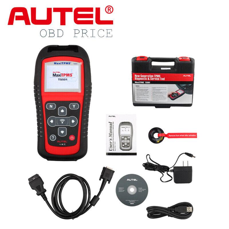 Autel TS501 TPMS Codes Reader Reprogram Tire Pressure Sensor Activation Tool