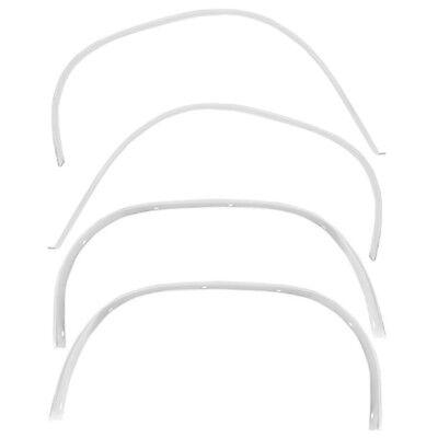 67 Chevelle El Camino Wheel Well Opening Trim Molding Set /Front Rear Right (Front Wheel Well Opening Molding)