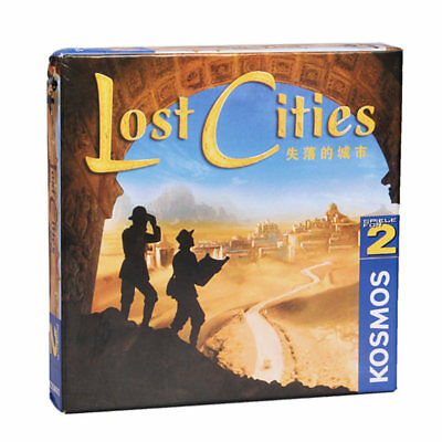 LOST CITIES Strategy Board Game Card For Kids Family Party Work Office CrewNew