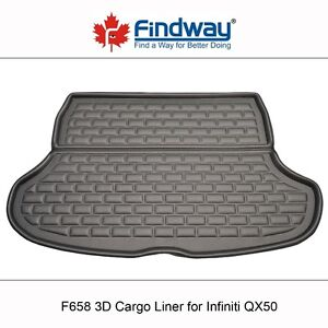 Findway F658 Style 3D Cargo Liner for 2014-2016 Infiniti QX50