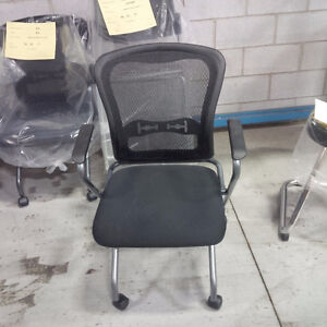 Mesh Back Guest Chairs...