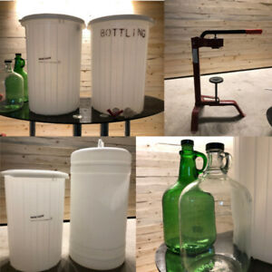 Wine & Beer Making Gear - Everything You Need! - $80 OBO