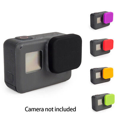 Gopro Accessories Silicone Lens Protective Cover For Camera Gopro Hero 6 5 Black
