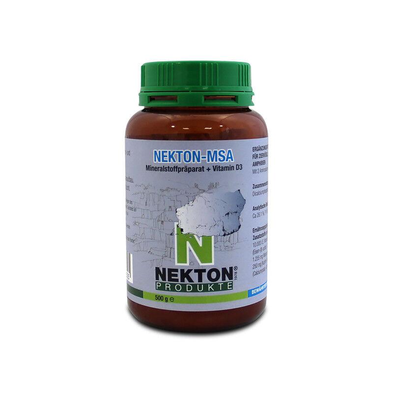 Nekton MSA Vitamin D3 + Mineralstoffe 500 g , Aufbaupräparat
