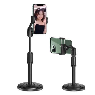 Adjustable Tripod Desktop Stand Desk Holder Selfie Stick Mount For Cell Phone